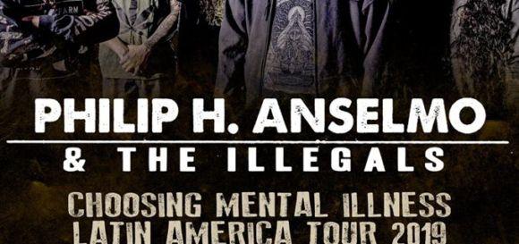 Phil Anselmo: primeiro lote de Pista Premium esgotado
